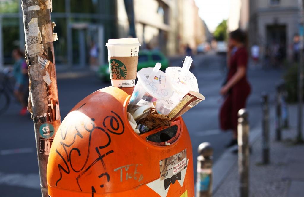 Steuer gegen Müll-to-Go