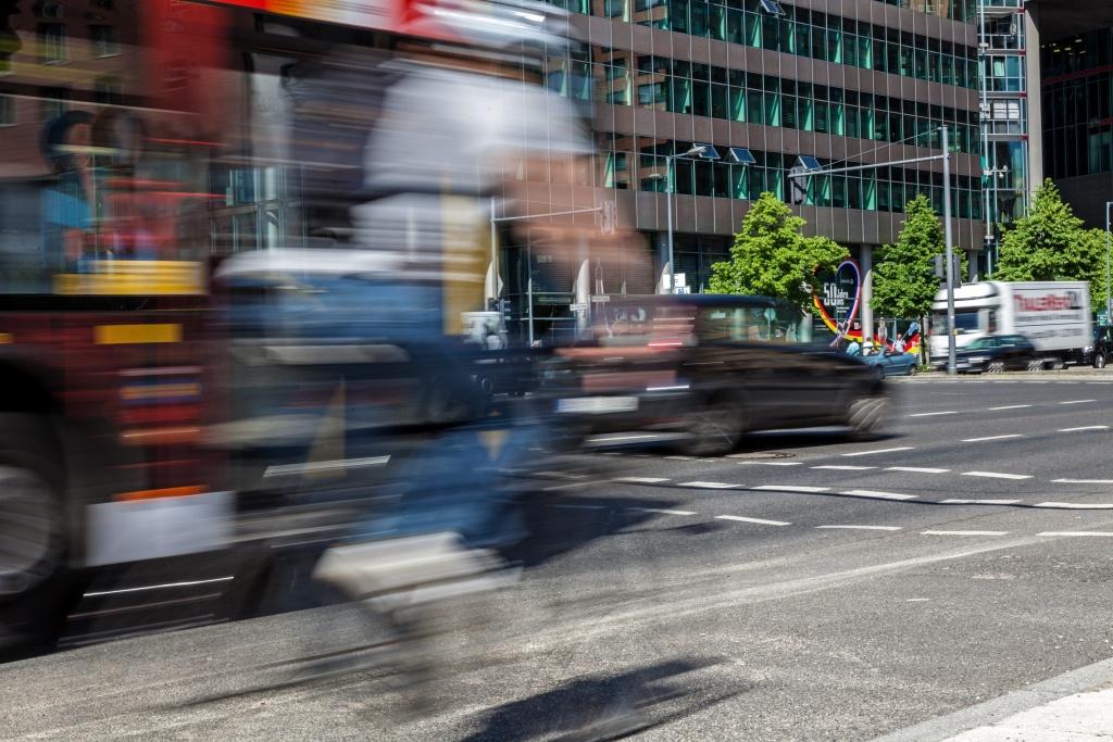 Gefahren auf dem Radweg