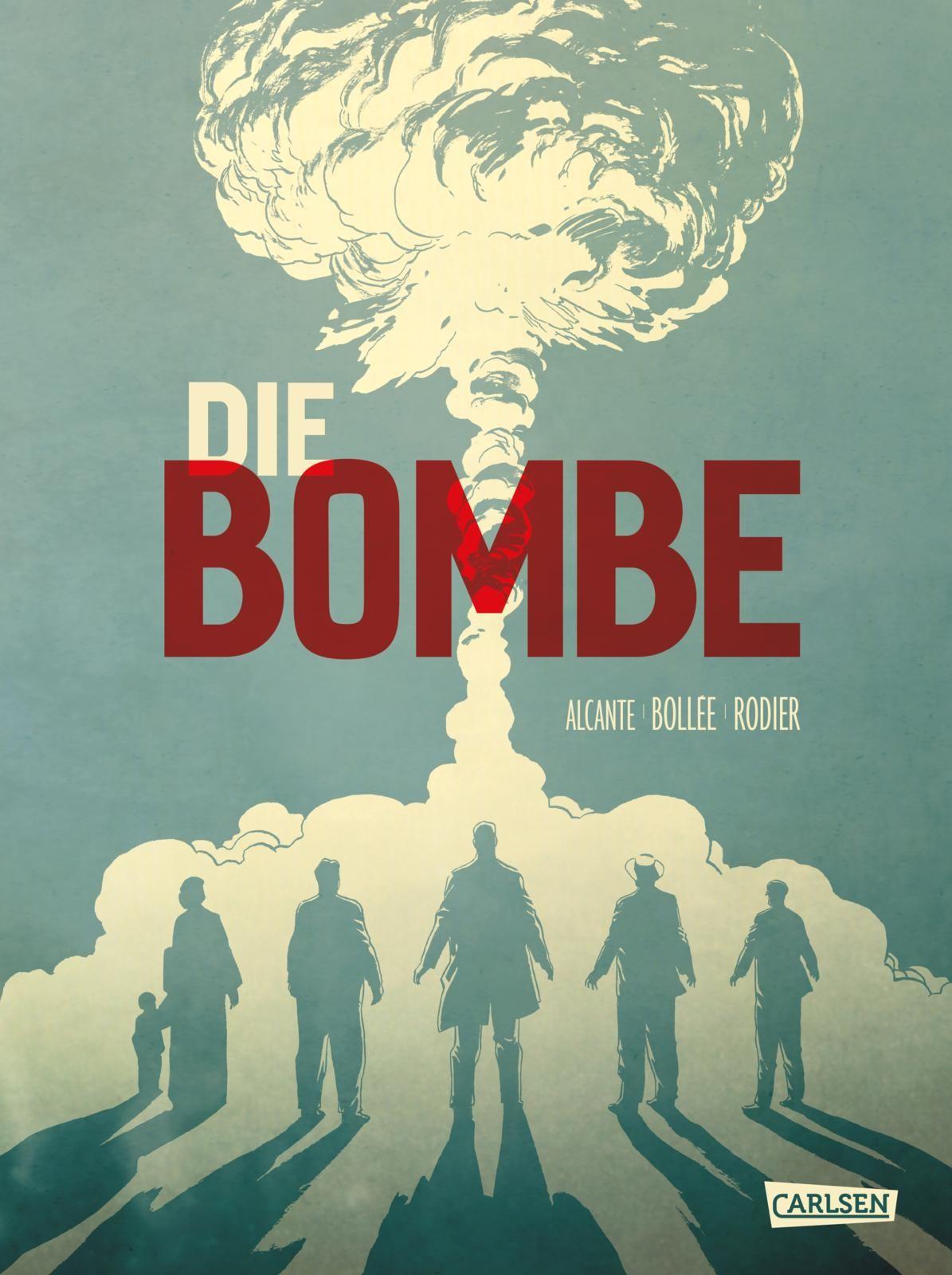 """<p>""""Die Bombe – 75 Jahre Hiroshima"""", Hardcover, Carlsen Verlag, ab 16 Jahren, 472 Seiten, 42 Euro</p>"""