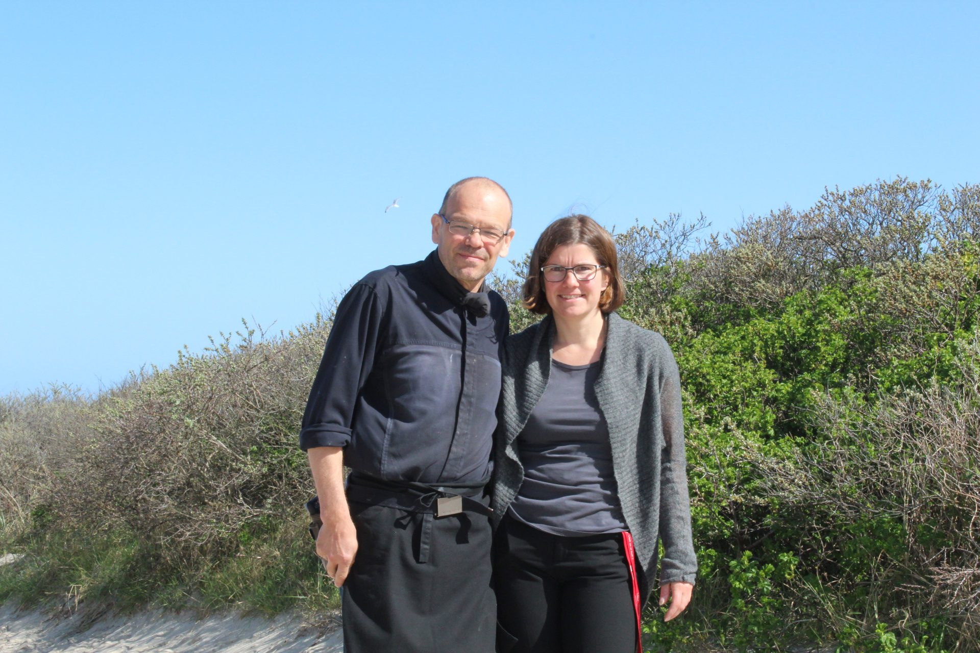 Das Ehepaar Recktenwald auf der ostfriesischen Insel Langeoog